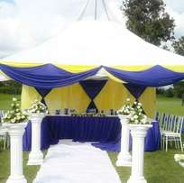 Tents,Chairs and Decoration