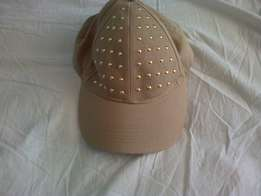 Brand new gold studded cap