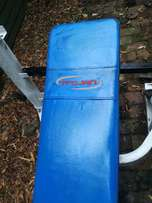 TROJAN muscletec bench + weights for sale by owner