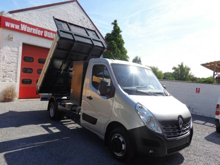Renault Master Benne Basculante + Coffre ETAT NEUF - 2018