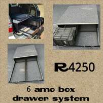 4 x 4 Storage Systems / Drawer Systems
