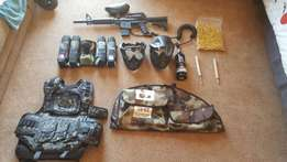 Paintball set! Hardly used. Best buy
