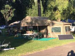 4x4 Camping Trailer - Fully Kitted - stainless steel - solar system