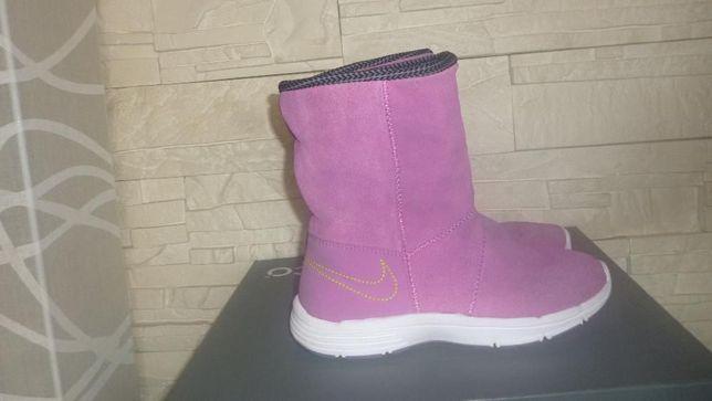 NIKE Kozaki df jill boot,skórzane dziecięce buty, rozmiar 30