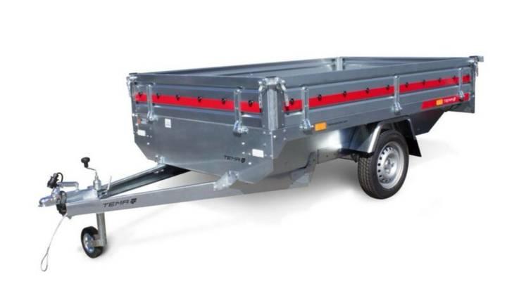 TEMA TR 2515 HL - 750 kg ca. 254 x 154 x 30 cm