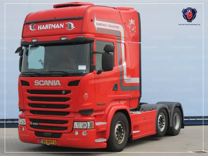 Scania R450 LA6X2/4MNA | Navigation | Stand Airco | SCR-only - 2016