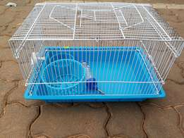 Hamster cage brand new with running wheel n water feeder