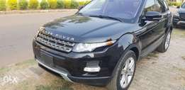 Registered 2012 Range Rover Evoque