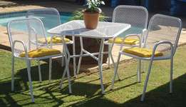 Custom Made Garden Chairs And Tables Sets
