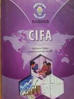 Revised CIFA Study notes, Revision kits and FREE past papers