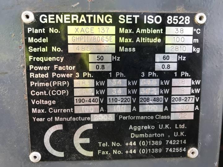 Iveco 8065E - 60 kVA Generator - DPX-11795 - 2003 - image 4