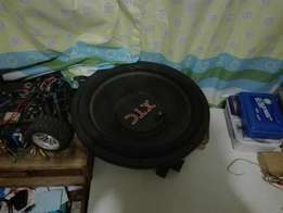 XTC Hooka series 15' subwoofer 6700 watts.