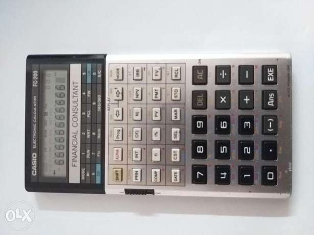 Casio FC 200 Financial consultant Calculator