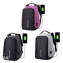 Anti Theft Business Laptop Backpack with USB Charging Port /Anti Theft