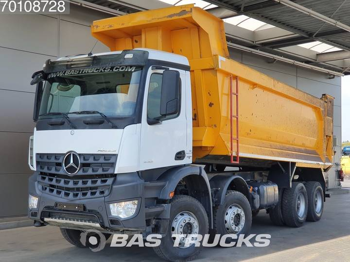 Mercedes-Benz Arocs 4142 K 8X4 Manual Big-Axle Steelsuspension Euro 6 - 2017