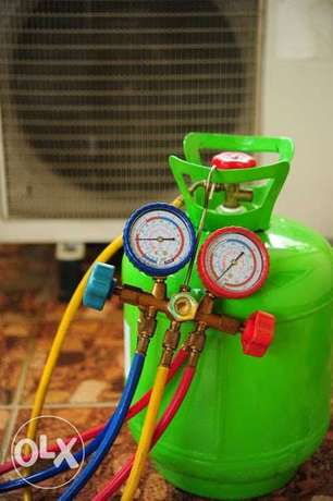 AC gas filling and service ( package offer)