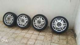 Car rims chrome size 18 جنوط مقاس 18 كروم