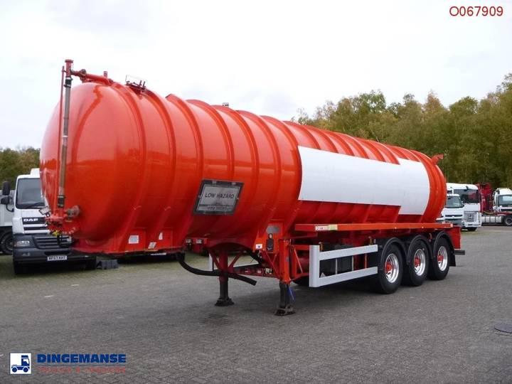 Crossland Vacuum tank alu 33 m3 / 1 comp + pump - 2009