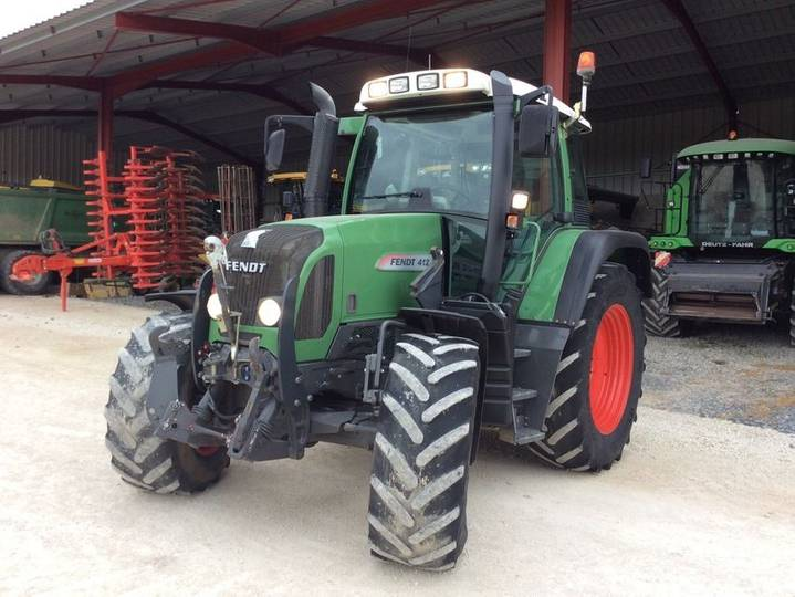 Fendt 412 vario tms entreprise agricole - 2013