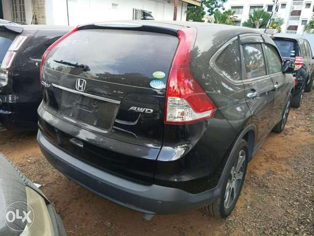 Newshape of Honda CRV Black 2012 model. KCP Mombasa Island - image 2