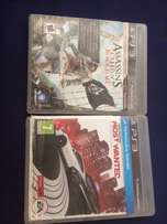 2 ps3 games assassins creed and nfs most wanted