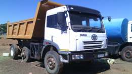 FAW 28280 Tipper for sale