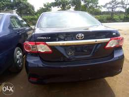 Toyota corolla 2012 just arrived few days very cleaning