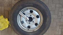3 Ford Ranger rims and tyres for sale