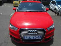 2011 Automatic Audi A1 3-Doors 1.4 Tfsi Ambition For R155,000