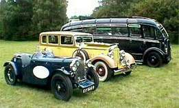 Vintage cars bakkies bikes tractors and trucks wanted