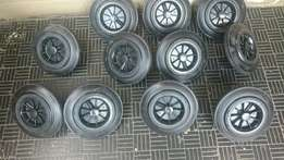 Dustbin wheels for sale completely brand new