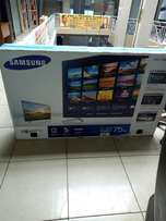 Samsung 75uh6400aw TV