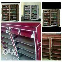 2 columns shoe racks available ksh. 3500