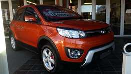 2017 GWM M4 1.5 Crossover, orange color,brand new, for R169 990.00