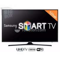 Electronic Programme Guide on SAMSUNG 50'' UHD 4K DVB t2 SMART WIFI TV