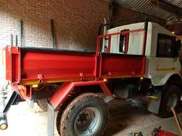 2002 Unimog With Trailer For SALE!
