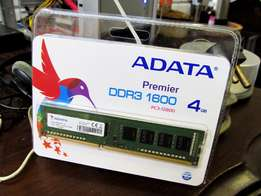 4GB ADATA Premier DDR3 1600 PC-12800 1.5V Desktop Memory
