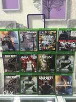 Xbox one CDs games..