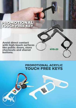 Promotional Touch-less Keys