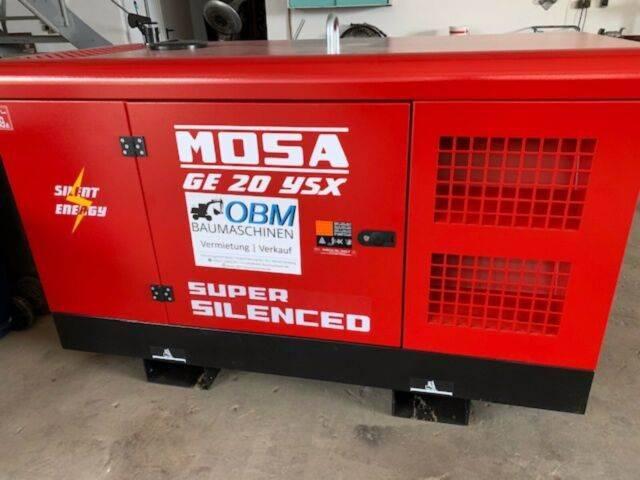 Mosa Stromaggregat Ge 20 Ysx Wassergekühlt - 2019