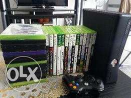xbox 360 for sale with more than 20 games