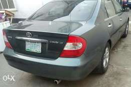 Registered Toyota Camry 2004