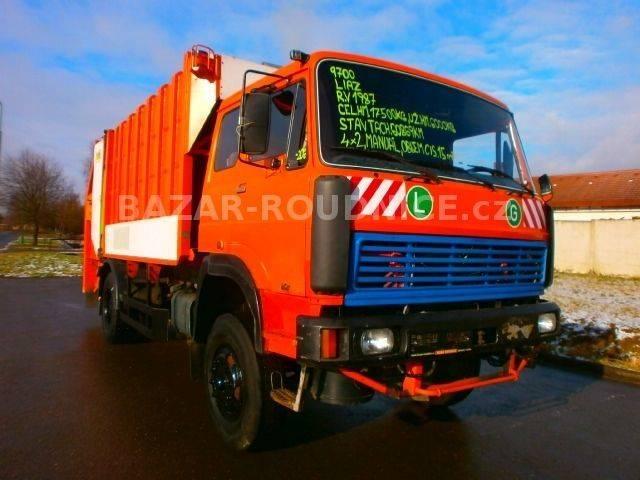 Liaz bobr 12 1 id 9700 garbage truck - 1987