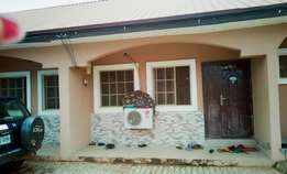 A well built two bedroom flat behind amac market,lugbe