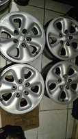 15 inch 5/114 pcd Mazda mags