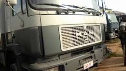 Very clean Man diesel truck for sale