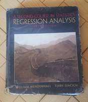 Statistics textbook: Regression Analysis