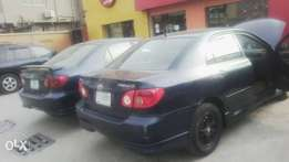 Clean Nigerian Used Corolla Sport 2006 Blue