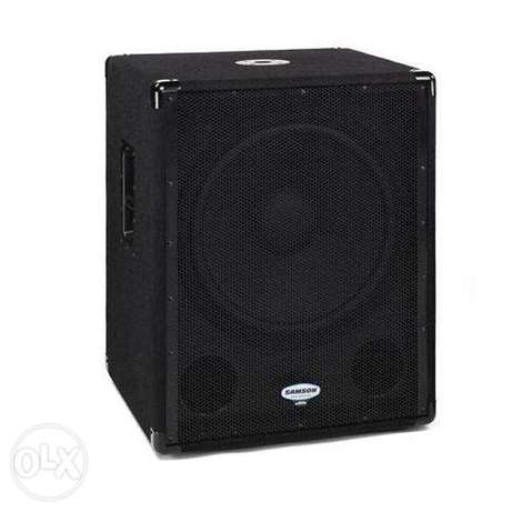 powered Subwoofer 1800a