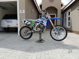 2008 Yamaha yz250f in imaculate condition